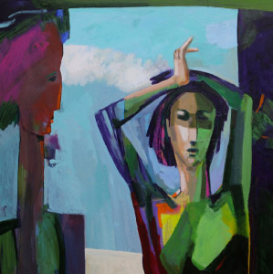 Parviz Payghamy figurative